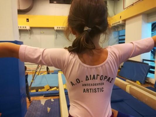 Στο Διαγόρα Αμπελοκήπων οι υπεύθυνοι ανάπτυξης ενόργανης γυμναστικής