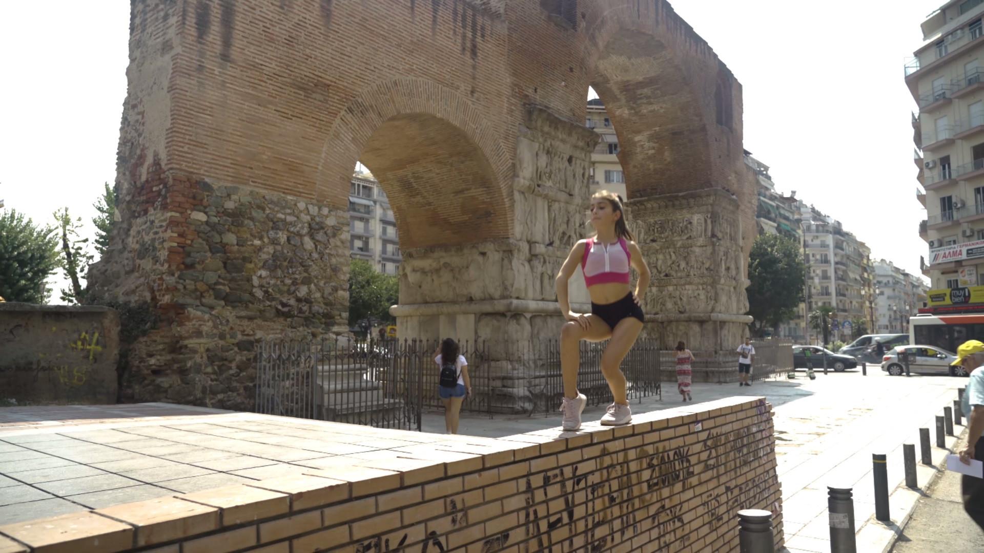 """Όλη η ομορφιά της ενόργανης γυμναστικής και της Θεσσαλονίκης, στο εντυπωσιακό βίντεο του """"Horizon Cup"""", με την υπογραφή του Κώστα Καλδάρα"""