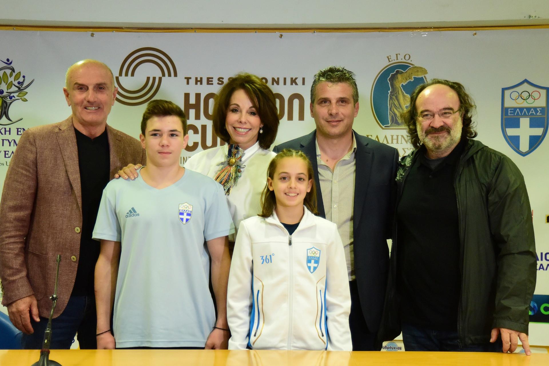 """Τα επόμενα αστέρια της ελληνικής και διεθνούς ενόργανης γυμναστικής λάμπουν στο 2ο """"Horizon Cup"""" (photos)"""