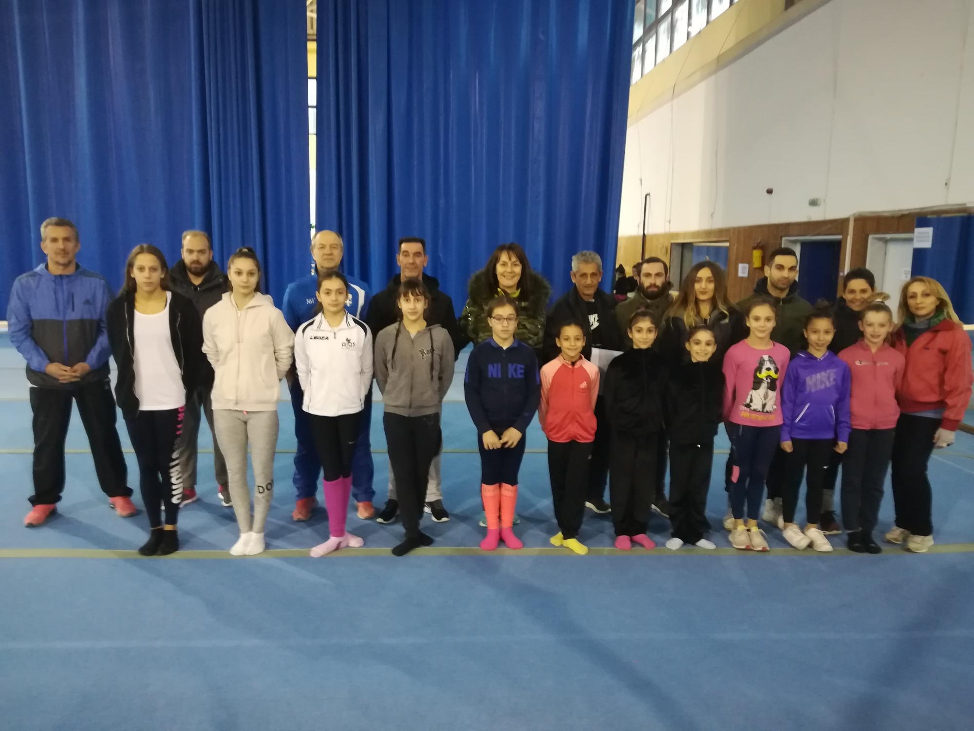 Ξεκίνησαν προπονήσεις στο ΚΥΕ Θεσσαλονίκης οι επιλεγμένες αθλήτριες ενόργανης