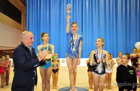 Απόλυτη επιτυχία στο «Κύπελλο Ελπίδων» ρυθμικής κορασίδων