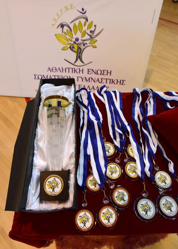 Κύπελλο Ελπίδων Ρυθμικής Γυμναστικής.- Πρόγραμμα προπόνησης (ορθή επανάληψη)