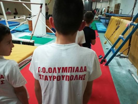 Στην Ολυμπιάδα Σταυρούπολης οι τεχνικοί ανάπτυξης της ενόργανης